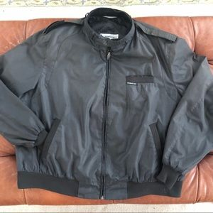 Vintage Members Only Jacket Lightweight Carbon 2X